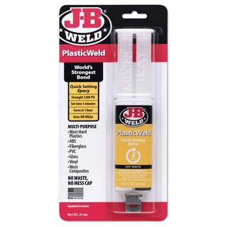 JB Weld 50132 25 ML Off-White PlasticWeld Quick Setting Epoxy