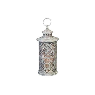 7-inch Wide x 14-inch High Metal Lantern