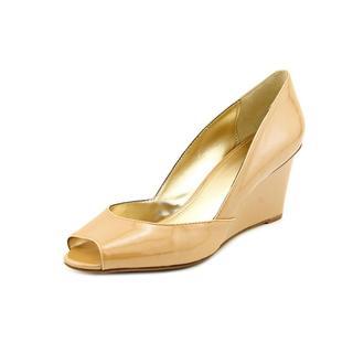 Alfani Women's 'Kendol' Patent Dress Shoes Size 8 in Tan (As Is Item)