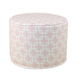 Gotcha Bella Round Corded Foam Ottoman