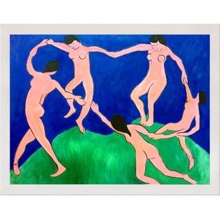 Henri Matisse 'La Danse' Hand Painted Framed Canvas Art