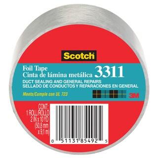 """3M 3311-10A 2"""" X 10 Yards Scotch Aluminum Foil Tape"""