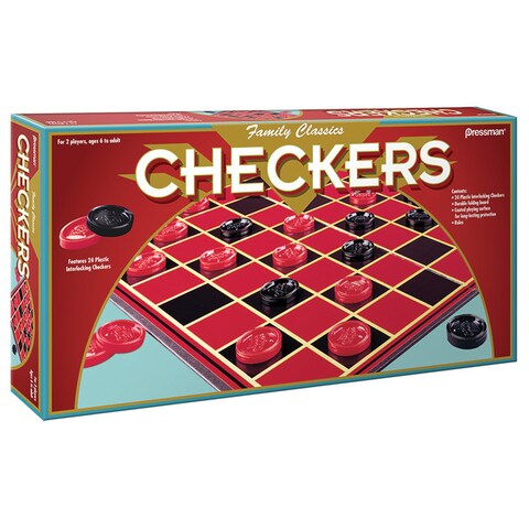 Pressman Checkers Board Game