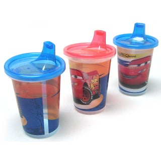 First Years Y9294 10-ounce Cars Take and Toss Sippy Cups (Pack of 3)