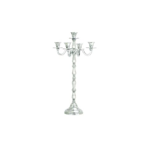 Gracewood Hollow Whitecloud Aluminum Candelabra