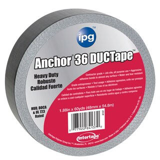 """Intertape Polymer Group 4137 2"""" X 60 Yards Heavy Duty Contractor DUCTape"""
