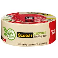 """3M 2050-48A 1.88"""" Scotch Painters' Masking Tape For Trim Work"""