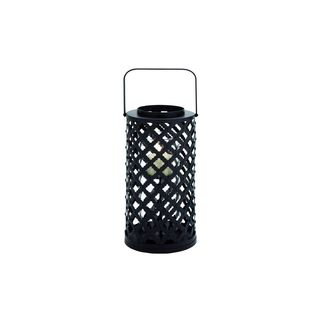Iron/ Glass Cylinder Wall Sconce Candle Holder - 15246193 - Overstock.com Shopping - Great Deals ...