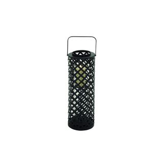 Clay Alder Home Mendota Metal Glass Candle Lantern (8 inches wide x 28 inches high)