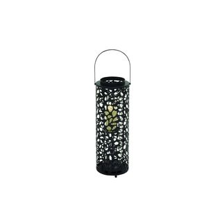 Black Iron/Glass 8-inch Wide x 31-inch High Candle Lantern