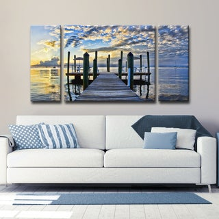 Ready2HangArt 'Pier Burst' by Christopher Doherty Canvas Art