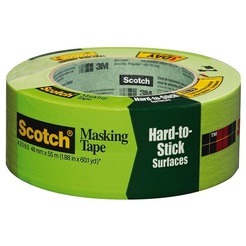 "3M 2060-48A 2"" Green Scotch Lacquer Masking Tape"