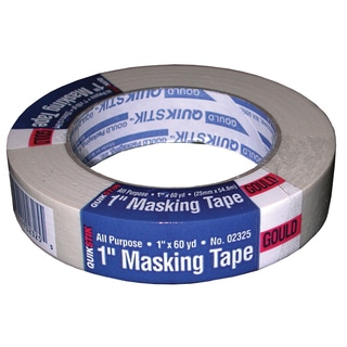 """Lepages 02325 1"""" X 60 Yards Gould QuikStik All Purpose Masking Tape"""