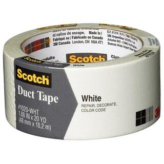 "3M 1020-WHT-A 1.88"" X 20 Yards Scotch White Duct Tape"