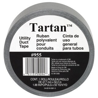 "3M 1055 1.88"" X 55 Yards Tartan Utility Duct Tape"