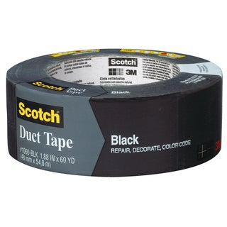 "3M 1060-BLK-A 1.88"" X 60 Yards BlackScotch Duct Tape"
