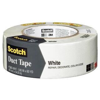 "3M 1060-WHT-A 1.88"" X 60 Yards White Scotch Duct Tape"