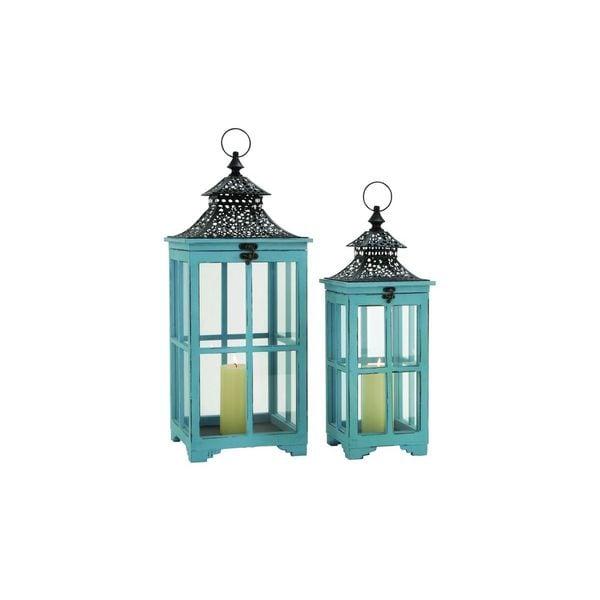 WD MTL Glass Lantern