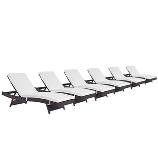 Gather Chaise Outdoor Patio Set of 6