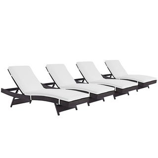 Bocabec Chaise Outdoor Patio (Set of 4) by Havenside Home
