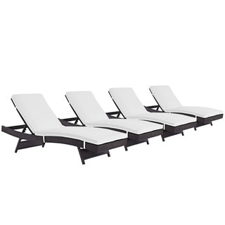 Gather Chaise Outdoor Patio Set of 4