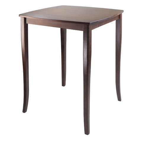 Inglewood High Table, Curved Top - Walnut