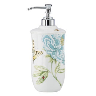 Shop Lenox Butterfly Meadow Blue Lotion Dispenser Free