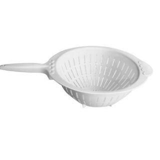 YBM Home 4 Quart Plastic Strainer Colander with Handle