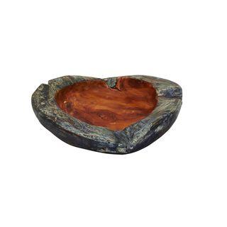 Teak 17-inch Medium Bowl