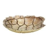 Havenside Home Buckroe 13-inch Glass Turtle Bowl