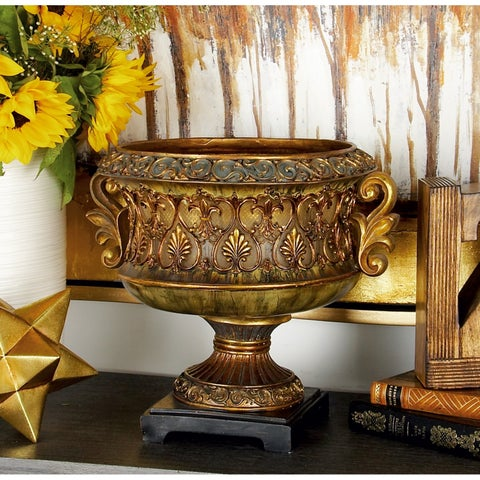 Gold Polystone Victory Bowl