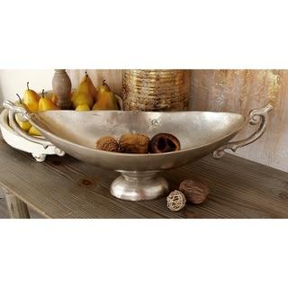 Aluminum 22-inch x 9-inch Pedestal Bowl