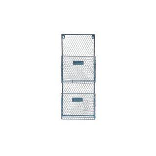 Metal Wire 10-inch x 27-inch Wall Basket