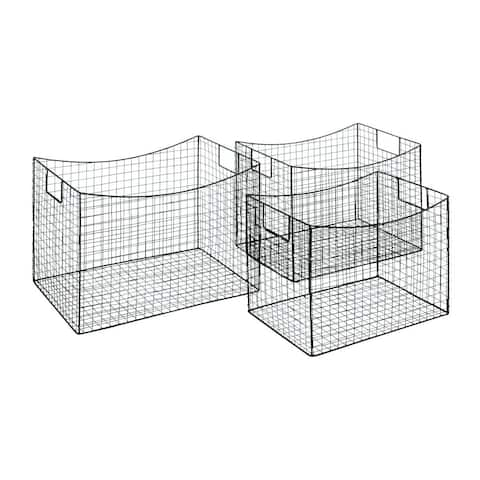 Carbon Loft Mackintosh Wire Storage Baskets (Set of 3)