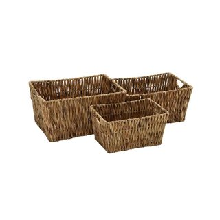 Seagrass Basket- 21-inch, 18-inch, 16-inch Set of 3