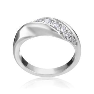 Andrew Charles 14k White Gold 1/3ct TDW Diamond Fashion Ring