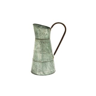 Galvanized Metal 16-inch x 10-inch Watering Jug