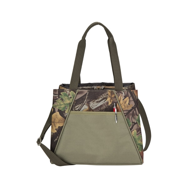 GOOD HOPE BAGS Camo Polyester Insulated Hot/Cold Lunch Co...