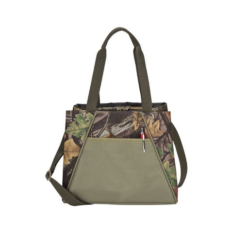 Goodhope Camo Polyester Insulated Hot/Cold Lunch Cooler Bag