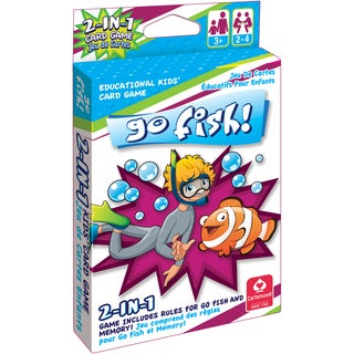CartaMundi 2 In 1 Card Game Go Fish & Memory