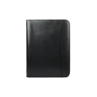 Goodhope Black Leather Tablet Padfolio