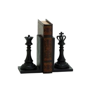 New Traditional Resin Chess Bookends