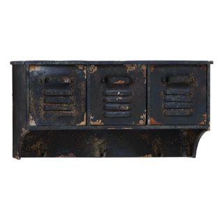 Metal Wall Shelf (11-inchH x 23-inchW)