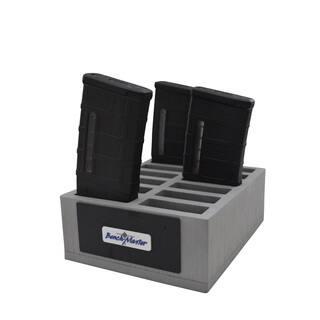 Benchmaster - Weapon Rack - AR-10 Mag Rack (12) - Gun Safe - Gun Storage Accessories - Gun Rack - AR-10|https://ak1.ostkcdn.com/images/products/12177724/P19028326.jpg?impolicy=medium