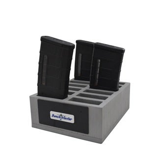 Benchmaster - Weapon Rack - AR-10 Mag Rack (12) - Gun Safe - Gun Storage Accessories - Gun Rack - AR-10