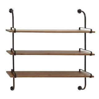 Rustic 3-shelf Wall Rack|https://ak1.ostkcdn.com/images/products/12177726/P19028425.jpg?impolicy=medium