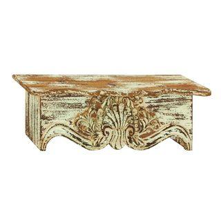 Distressed Wood 28-inch Wall Shelf