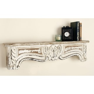 Rustic Elegance 36-inch Wood Wall Shelf
