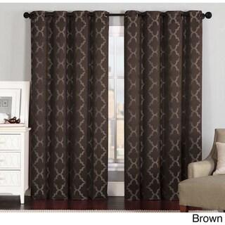 Brown, Geometric Curtains & Drapes - Shop The Best Deals For Apr 2017
