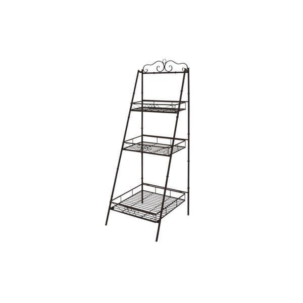 Gracewood Hollow Poldine Metal 3-tier Shelves (59-inchH x 21-inchW) -  UMA Enterprises, 41404